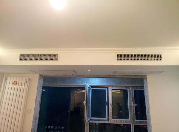 北京 阳春光华家园 大金VRV-P系列 一拖五中央空调系统安装案例